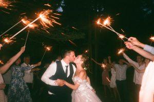people raising lit sparklers while encircling bride and 1371807 300x200 - Poznaj najpopularniejsze zabawy na wesele